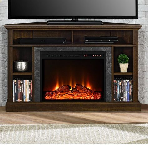 """Newest Neilsen Tv Stands For Tvs Up To 50"""" With Fireplace Included Regarding Moreton Corner Tv Stand For Tvs Up To 50"""" With Fireplace (View 15 of 15)"""