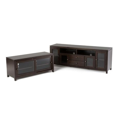 Newest Orsen Wide Tv Stands Intended For Essex Solid Wood 48 Inch Wide Contemporary Tv Media Stand (View 13 of 15)