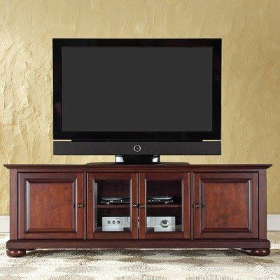 """Newest Retro Corner Tv Stands With Amazon: Alexandria 60"""" Tv Stand Finish: Vintage (View 8 of 15)"""