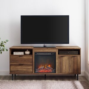 """Newest Rickard Tv Stands For Tvs Up To 65"""" With Fireplace Included Throughout Wrought Studio Eglinton Tv Stand For Tvs Up To 65"""" With (View 6 of 15)"""