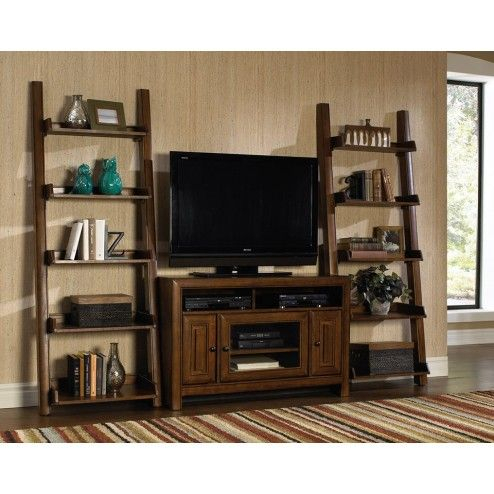 Newest Tv Stands And Bookshelf Regarding Love This Entertainment Set! The Pieces Can Be Used (View 1 of 15)
