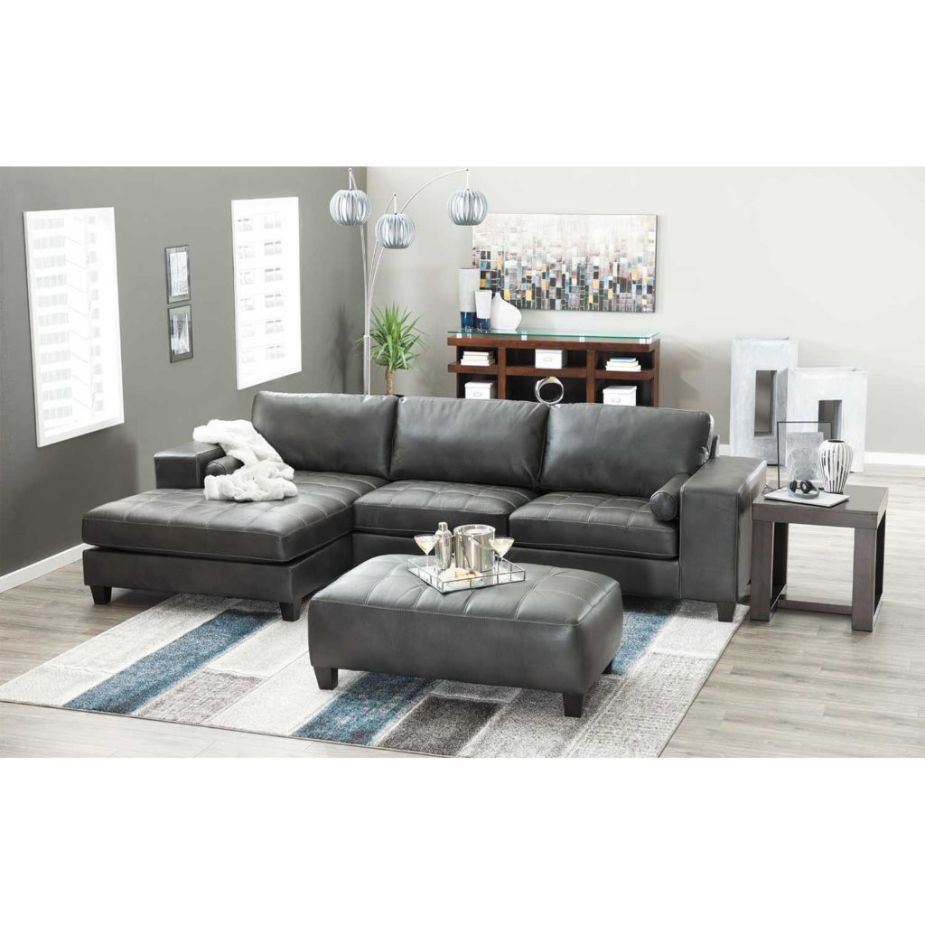 Nokomis 2 Piece Sectional With Raf Chaise – Indy Best Intended For Evan 2 Piece Sectionals With Raf Chaise (View 15 of 15)