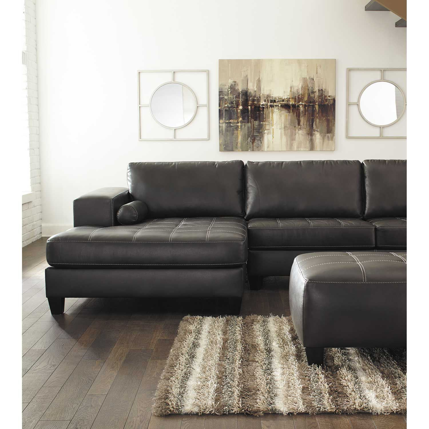 Nokomis 2 Piece Sleeper Sectional With Laf Chaise 8770169 For Aspen 2 Piece Sleeper Sectionals With Laf Chaise (View 4 of 15)