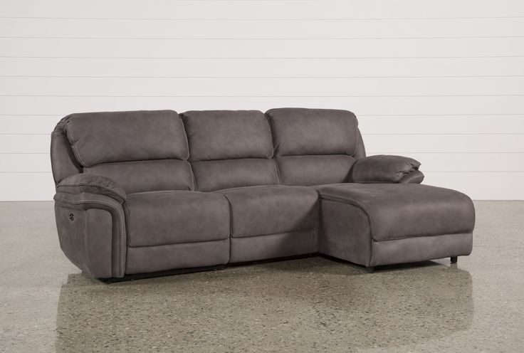 Norfolk Grey 3 Piece Sectionals With Raf Chaise – Beideo Throughout Norfolk Chocolate 3 Piece Sectionals With Raf Chaise (View 8 of 15)