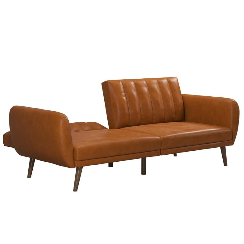 Novogratz Brittany Futon In Convertible Sofa & Couch In Within Brittany Sectional Futon Sofas (View 11 of 15)