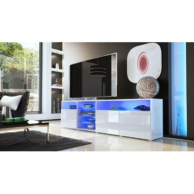"""Orren Ellis Prieto Tv Stand For Tvs Up To 88 Inches Intended For Most Current Gosnold Tv Stands For Tvs Up To 88"""" (View 14 of 15)"""