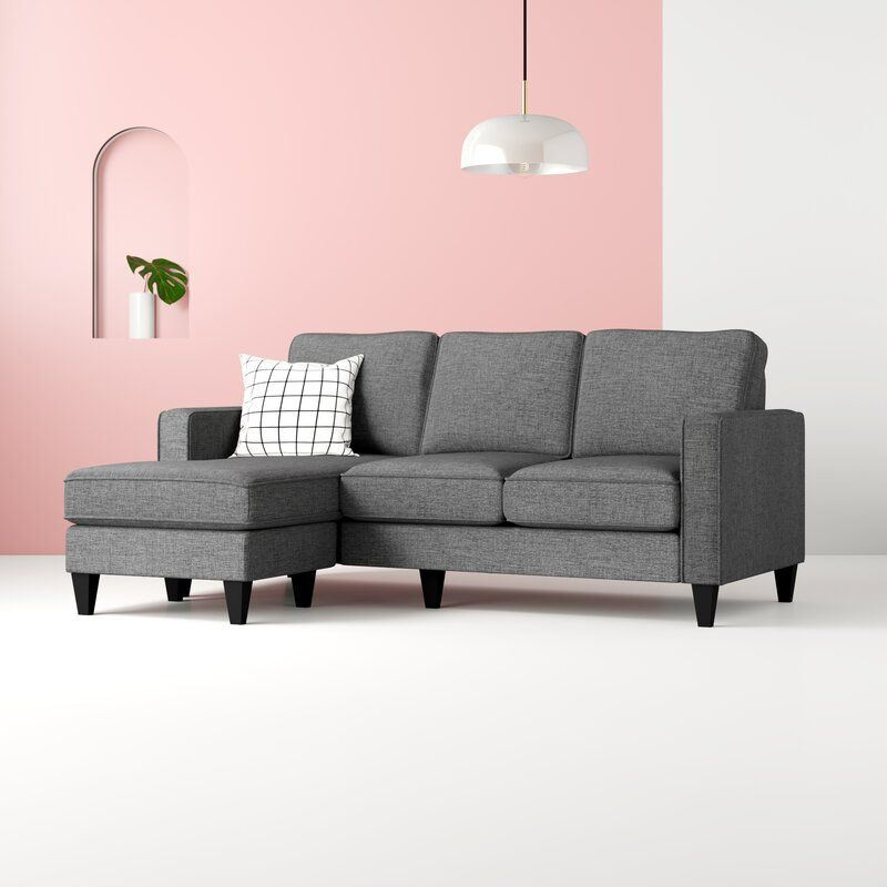 """Palisades 80"""" Wide Reversible Sofa & Chaise   Sectional With Palisades Reversible Small Space Sectional Sofas With Storage (View 8 of 15)"""