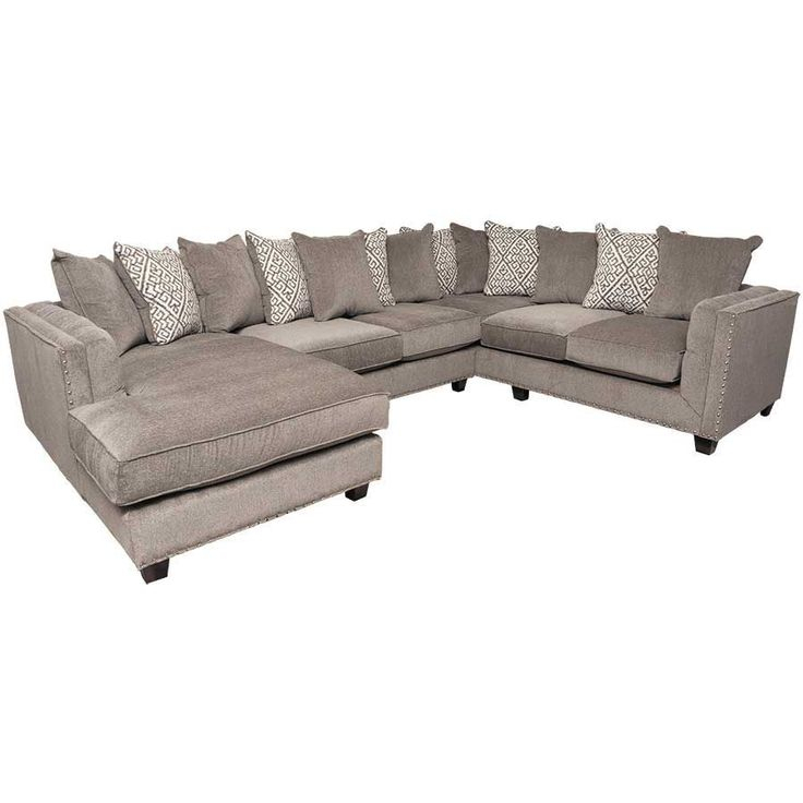Picture Of Juliana 3Pc Sectional With Laf Chaise | 3 Piece Throughout Norfolk Grey 3 Piece Sectionals With Laf Chaise (View 15 of 15)