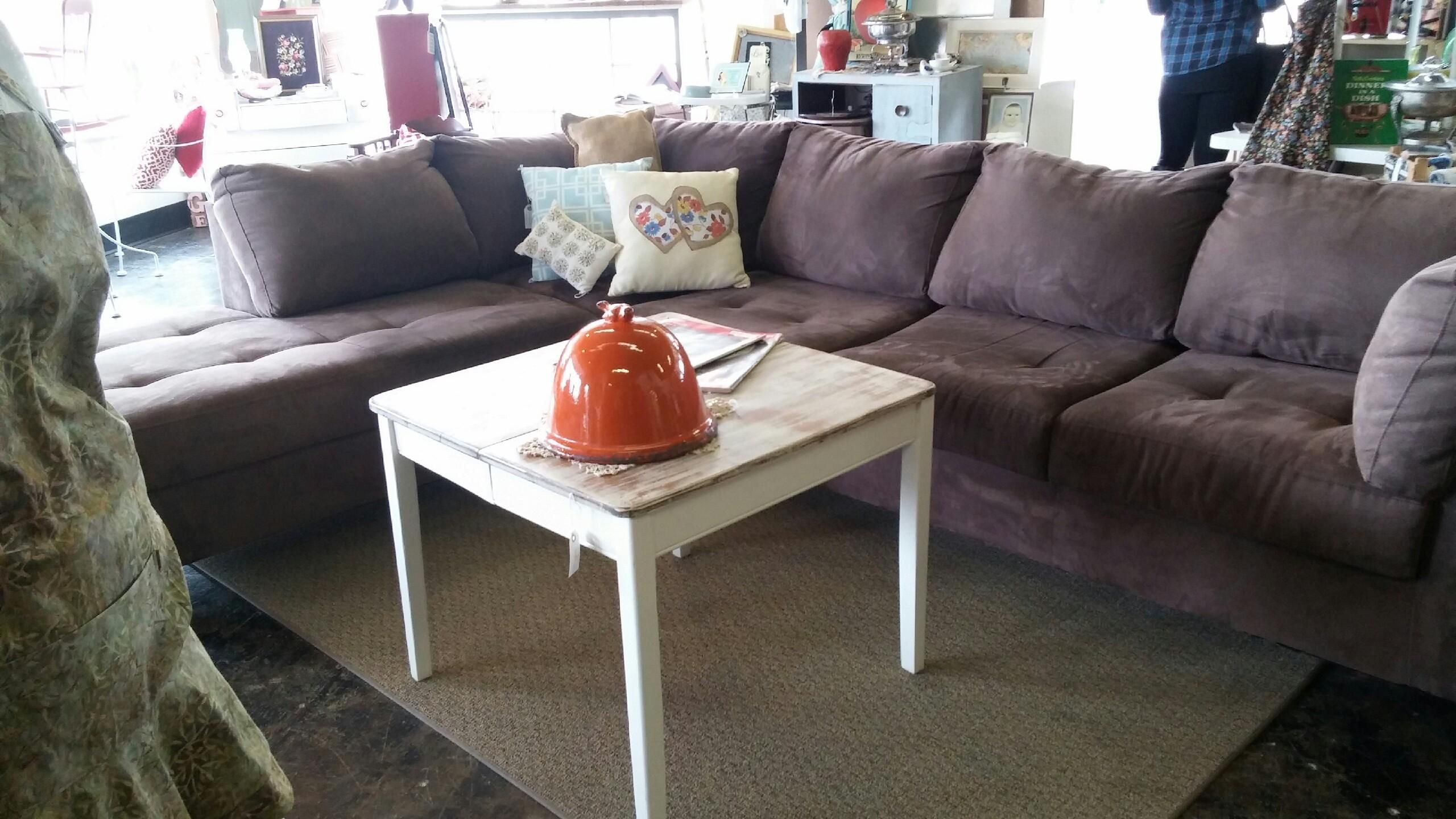 Pinmustard Seed Home Decor & More On Furniture For French Seamed Sectional Sofas Oblong Mustard (View 7 of 15)