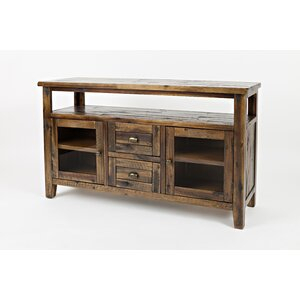 Popular Boahaus Dakota Tv Stands With 7 Open Shelves Pertaining To Leija Cabinet/Enclosed Storage Tv Stand For Tvs Up To  (View 6 of 15)