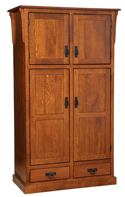 Popular Dark Brown Tv Cabinets With 2 Sliding Doors And Drawer In Mission 4 Door Pantry With Drawer Cabinet (View 5 of 15)