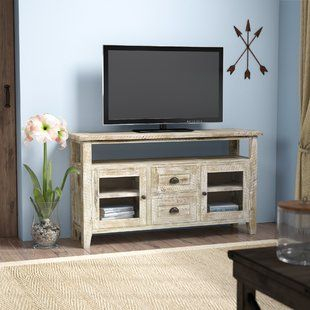 Popular Entertainment Center Tv Stands Reclaimed Barnwood For Millwood Pines Stonecipher Tv Stand For Tvs Up To  (View 3 of 15)