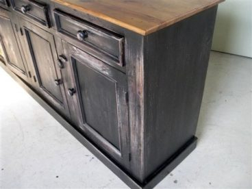 Popular Rustic Country Tv Stands In Weathered Pine Finish In Rustic Barn Wood Buffet In Multi Color Finish (View 13 of 15)