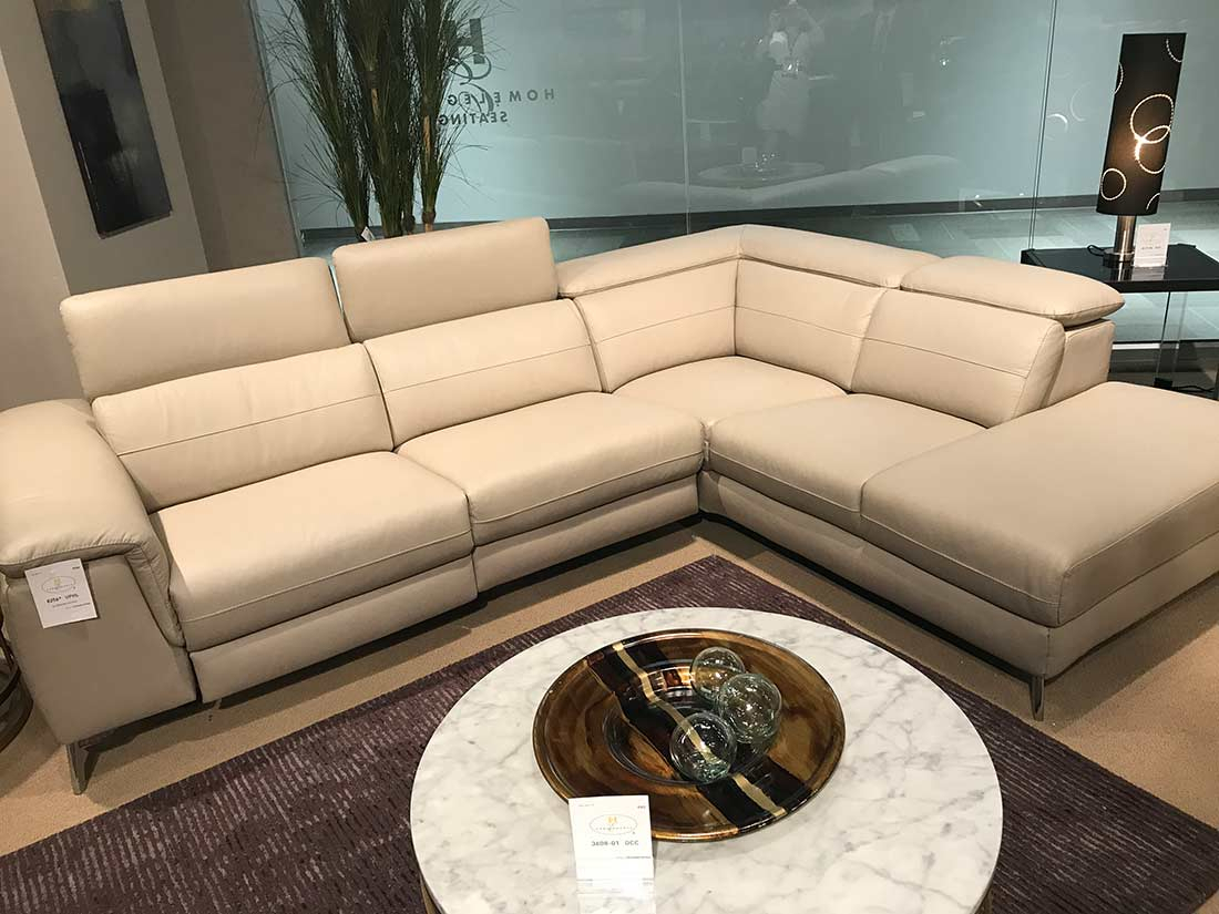 Power Recliner Sectional Sofa He 256   Leather Sectionals Inside Sectional Sofas (View 9 of 15)