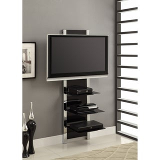 Preferred Chromium Tv Stands Inside Shop Altramount Tv Stand In Glass/Chrome – Free Shipping (View 11 of 15)