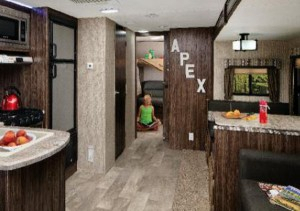 Preferred Lucas Extra Wide Tv Unit Grey Stands Throughout Top 5 Best Bunkhouse Travel Trailers Under 5,000 Lbs (View 14 of 15)