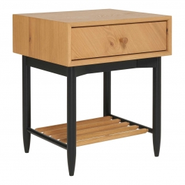Preferred Monza Tv Stands With Ercol Monza 1 Drawer Bedside Cabinet – Barker & Stonehouse (View 8 of 15)