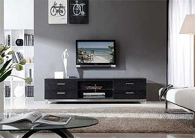 Preferred Unique Tv Stands For Flat Screens With Modern Black Tv Stand Bm (View 4 of 15)