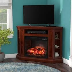 """Raya Tv Stand For Tvs Up To 70"""" With Fireplace Included With Most Recently Released Neilsen Tv Stands For Tvs Up To 50"""" With Fireplace Included (View 13 of 15)"""