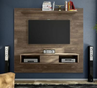 Recent Carbon Extra Wide Tv Unit Stands Pertaining To 70 Inch Entertainment Center Floating Rustic Wall Unit (View 9 of 15)