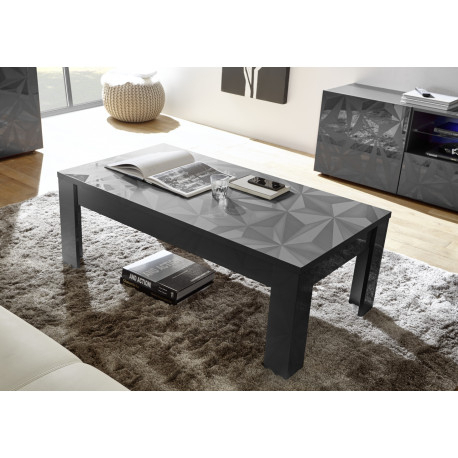 Recent Casablanca Tv Stands With Regard To Prisma Decorative Grey Gloss Coffee Table – Coffee Tables (View 8 of 15)