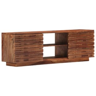 """Recent Chrissy Tv Stands For Tvs Up To 75"""" Intended For # Bridgeman Solid Wood Tv Stand For Tvs Up To 75Loon (View 13 of 15)"""