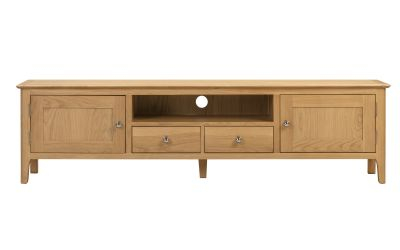 Recent Monza Tv Stands Throughout Cotswold Widescreen Tv Unit (View 13 of 15)