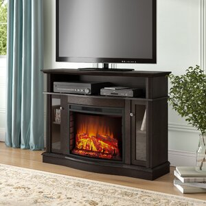 """Recent Neilsen Tv Stands For Tvs Up To 50"""" With Fireplace Included Regarding Red Barrel Studio® Welliver Tv Stand For Tvs Up To  (View 12 of 15)"""