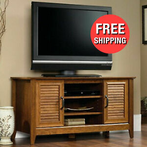 Recent Single Shelf Tv Stands Within Wood Panel 47 Inch Tv Stand 5 Shelves 2 Doors (View 5 of 15)