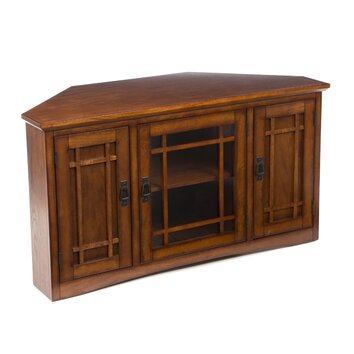 Recent Tv Stands For Corners With Charlton Home Stodeley Corner Tv Stand & Reviews (View 10 of 15)