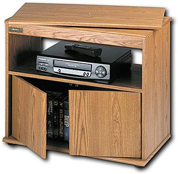 """Recent Tv Stands For Tube Tvs Within Sauder Tv/Vcr Stand With Swivel Top For 27"""" Tvs 4155  (View 6 of 15)"""