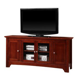 Recent Walker Edison Contemporary Tall Tv Stands For Walker Edison 52 In (View 4 of 15)
