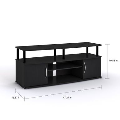 Rent To Own Furinno Jaya Black Mdf Large Entertainment Inside Widely Used Furinno Jaya Large Entertainment Center Tv Stands (View 1 of 15)