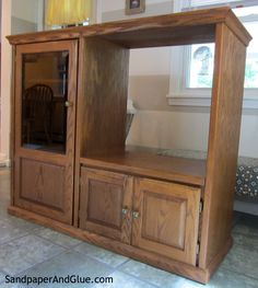 Repurpose An Old Tv Cabinet Into Something New (View 7 of 15)