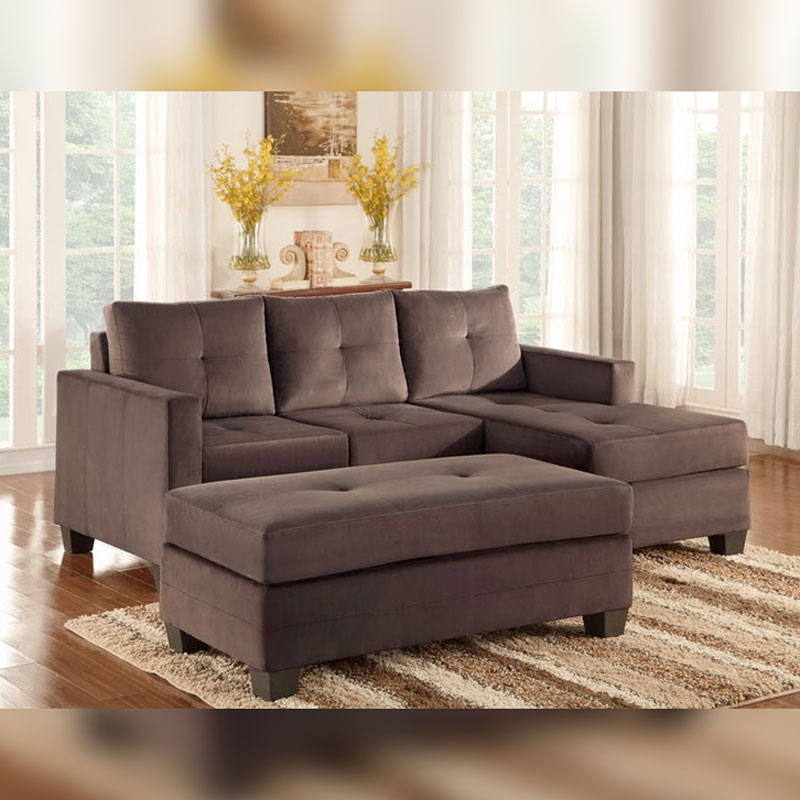 Reversible Sofa Chaise – Discount Furniture | Portland Or Pertaining To London Optical Reversible Sofa Chaise Sectionals (View 2 of 15)