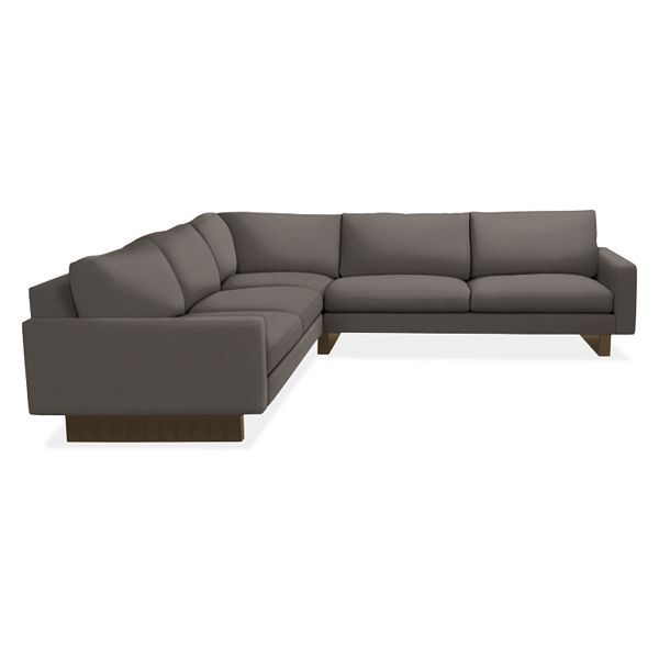 """Room & Board – Hess 108X108"""" Three Piece Sectional For Room And Board Sectional Sofas (View 13 of 15)"""