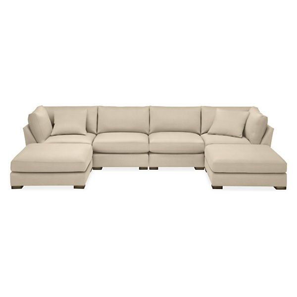 """Room & Board – Mayer 158X86"""" Six Piece Modular U Shaped In Room And Board Sectional Sofas (View 9 of 15)"""