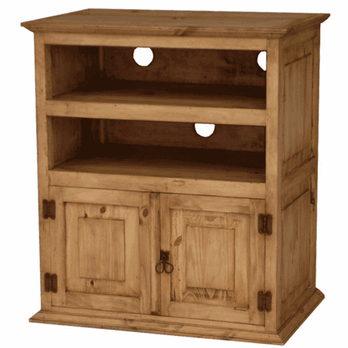 Rustic Mexican Pine Tv Stand And Swivel Pine Tv Stand Throughout Current Rustic Tv Stands (View 14 of 15)