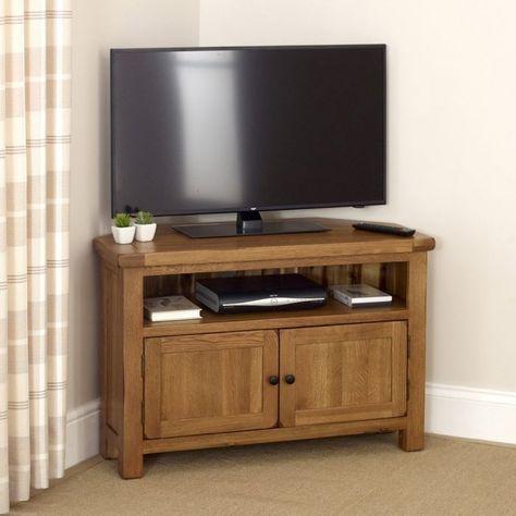 Rustic Oak Corner Tv Unit – Up To  (View 9 of 15)