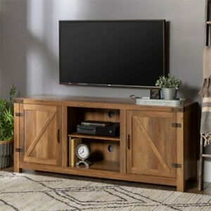 """Rustic Tv Stand Smart 4K Farmhouse Entertainment Center Up Regarding Most Current Totally Tv Stands For Tvs Up To 65"""" (View 13 of 15)"""