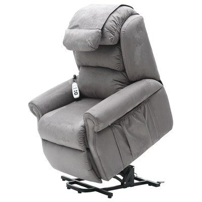 Sandfield Wall Hugging Riser Recliner Dual Motor Armchair Pertaining To Most Current Penelope Dove Grey Tv Stands (View 7 of 15)