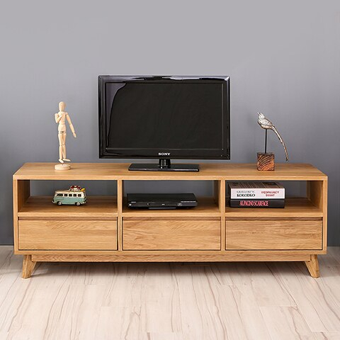 Scandinavian Modern Japanese Style Wood Tv Cabinet Ikea Tv For Trendy Carbon Extra Wide Tv Unit Stands (View 3 of 15)