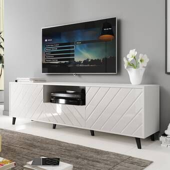 """Schall Tv Stand For Tvs Up To 78"""" In  (View 9 of 15)"""