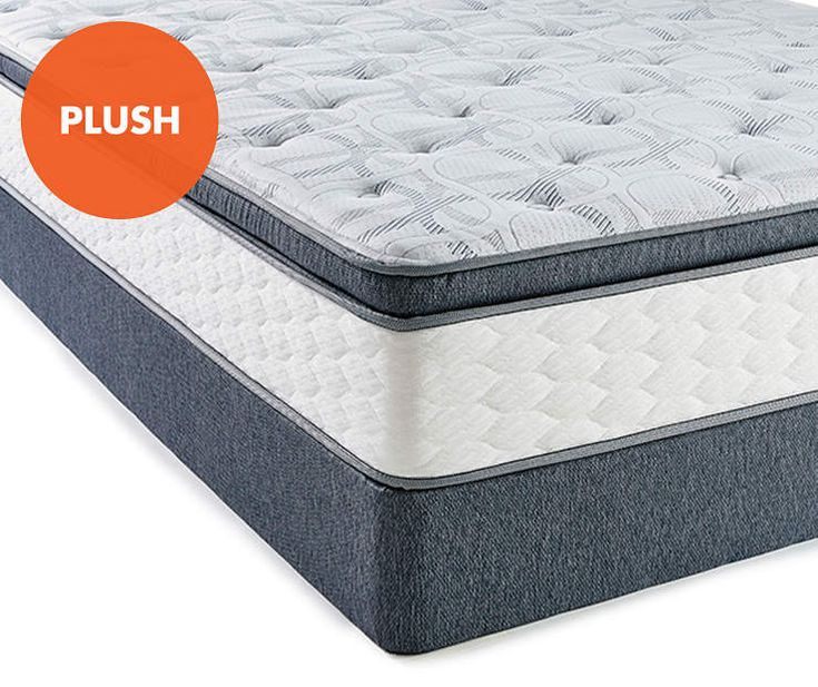 Serta Plush King Mattress & Box Spring Set, Perfect Intended For Debbie Coil Sectional Sofas (View 5 of 15)