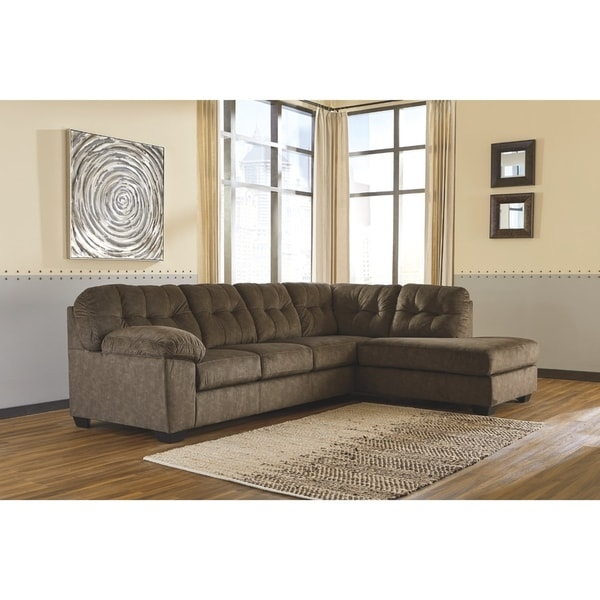 Shop Accrington 2 Piece Sectional – Raf Corner Chaise With Regard To Aspen 2 Piece Sleeper Sectionals With Laf Chaise (View 12 of 15)