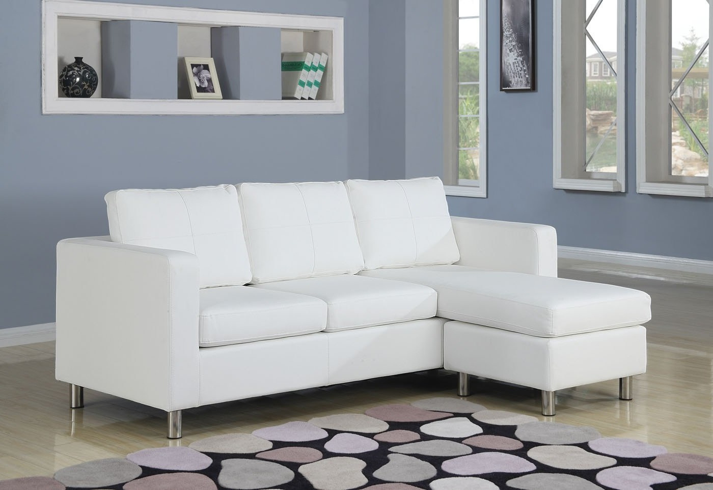 Small Sectional Sofa With Chaise: Perfect Choice For A Throughout 4Pc Crowningshield Contemporary Chaise Sectional Sofas (View 4 of 15)