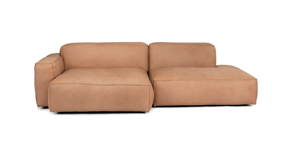 Solae Canyon Tan Left Sectional   Mid Century Modern In Florence Mid Century Modern Left Sectional Sofas (View 12 of 15)