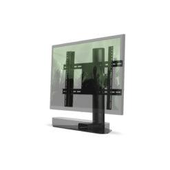 Sonos Beam Verstelbare Tv Stand Zwart » Flexson Intended For Recent Sonos Tv Stands (View 7 of 15)