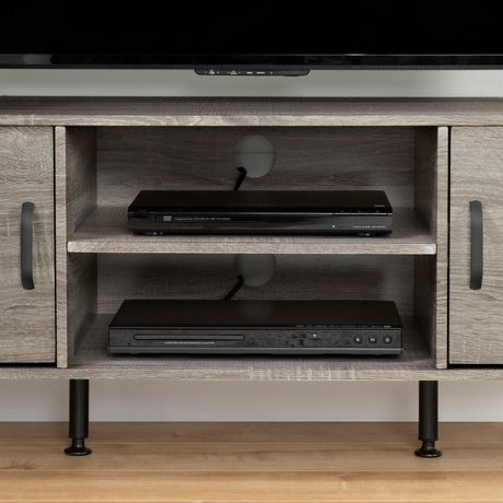 South Shore Evane Tv Stand With Doors For Tvs Up To 55 Intended For Most Popular South Shore Evane Tv Stands With Doors In Oak Camel (View 3 of 15)