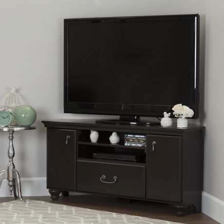 """South Shore Noble Corner Tv Stand For Tv'S Up To 60 Inches In Widely Used Kasen Tv Stands For Tvs Up To 60"""" (View 4 of 15)"""